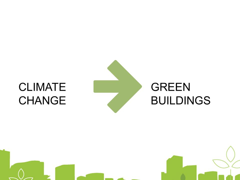 CLIMATE CHANGE GREEN BUILDINGS