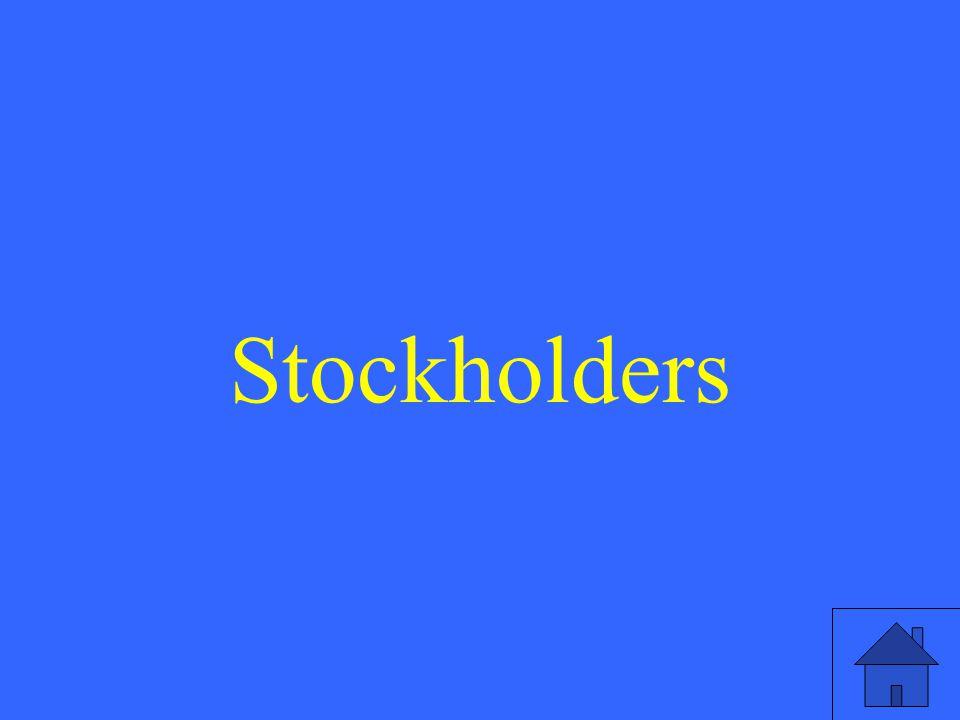 Stockholders