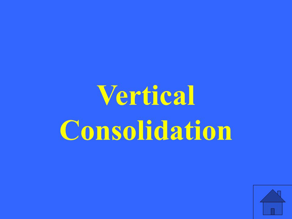 Vertical Consolidation