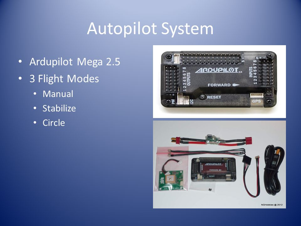 Autopilot System Ardupilot Mega 2.5 3 Flight Modes Manual Stabilize Circle