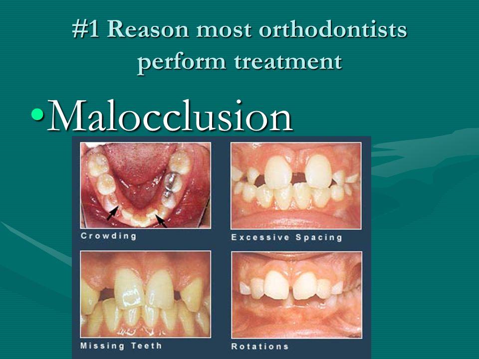 #1 Reason people seek orthodontic treatment EstheticsEsthetics