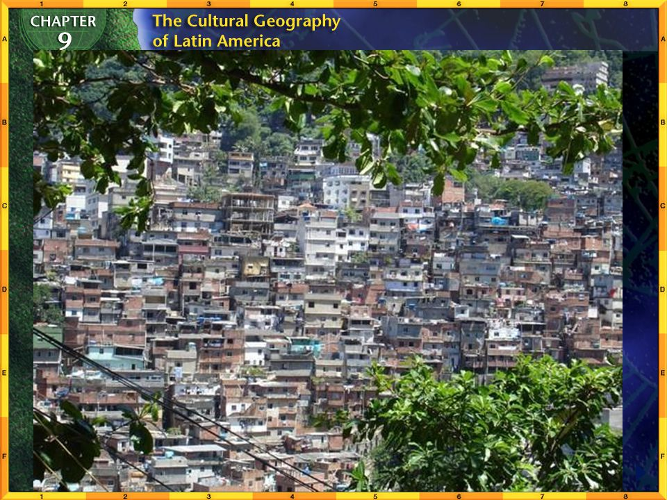 Section 2-11 Urban Environments Some are forced to live in makeshift slums and shantytowns (fevelas, barriadas, villa miserias), where diseases spread
