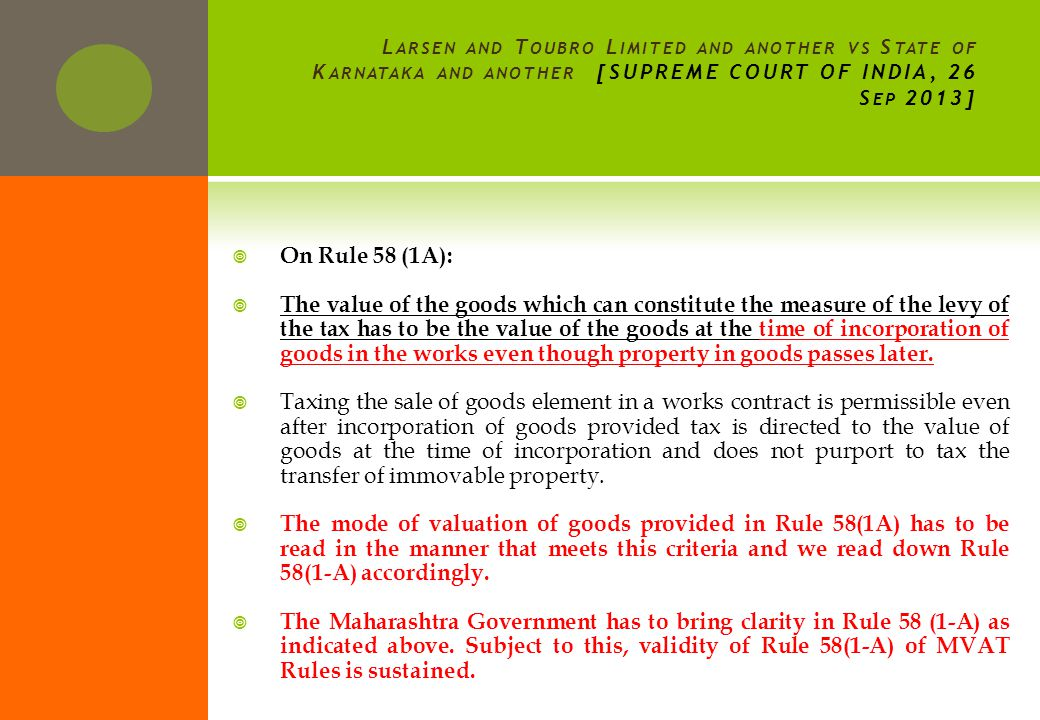 On Section 2(24): There is no doubt in our mind that the amendment in explanation b(ii) to Section 2(24) was brought because of the judgment of this Court in Raheja Development.