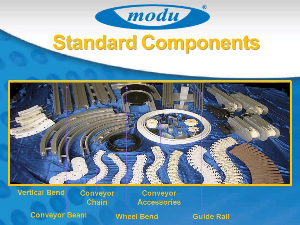 Vertical Bend Conveyor Chain Conveyor Accessories Wheel Bend Conveyor Beam Guide Rail Standard Components