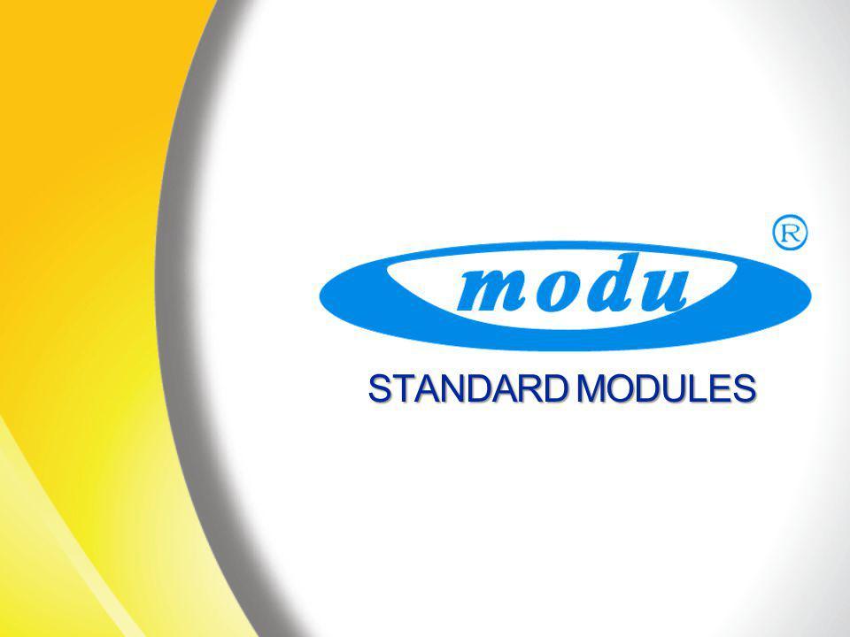 STANDARD MODULES