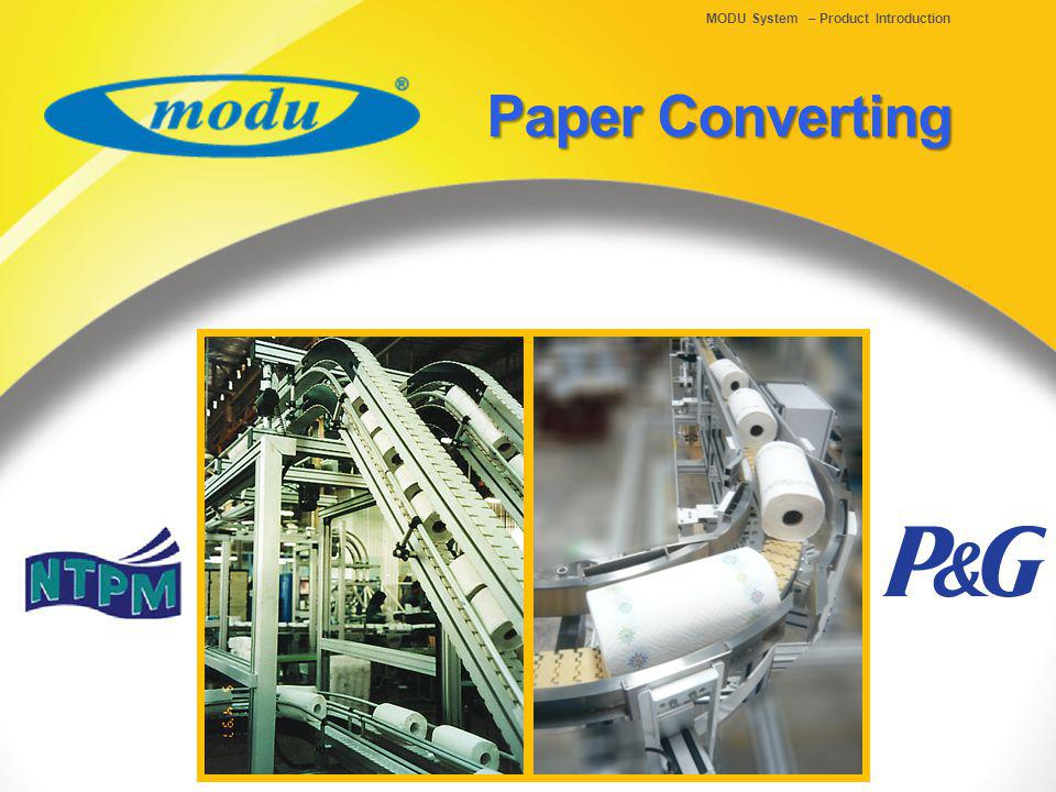 MODU System – Product Introduction Paper Converting