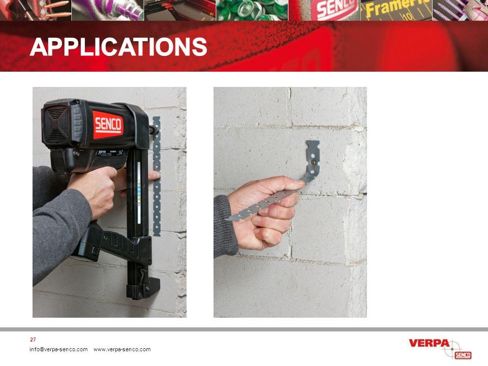 info@verpa-senco.com www.verpa-senco.com 27