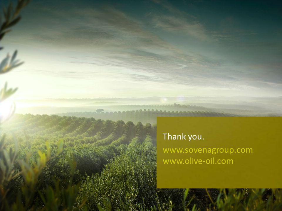 13 Thank you. www.sovenagroup.com www.olive-oil.com
