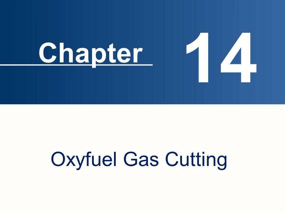 14 Oxyfuel Gas Cutting Chapter