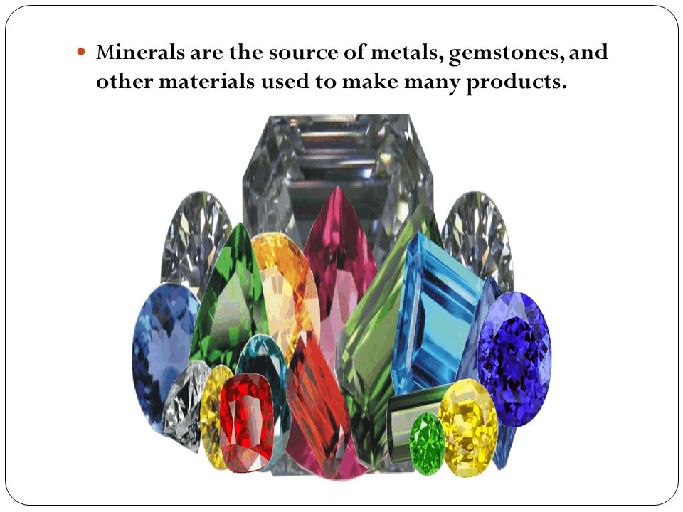 Two or more metals may be mixed together to form an alloy.