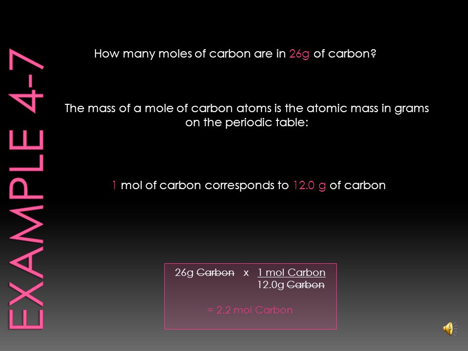 .75 mol CO 2 x 6.02 x 10 23 CO 2 molecules mol = 4.5 x 10 23 CO 2 molecules How many carbon dioxide molecules are in.75 mol of CO 2 .