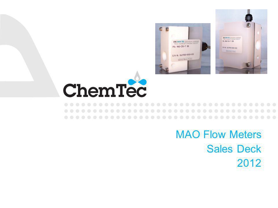 MAO Flow Meters Sales Deck 2012