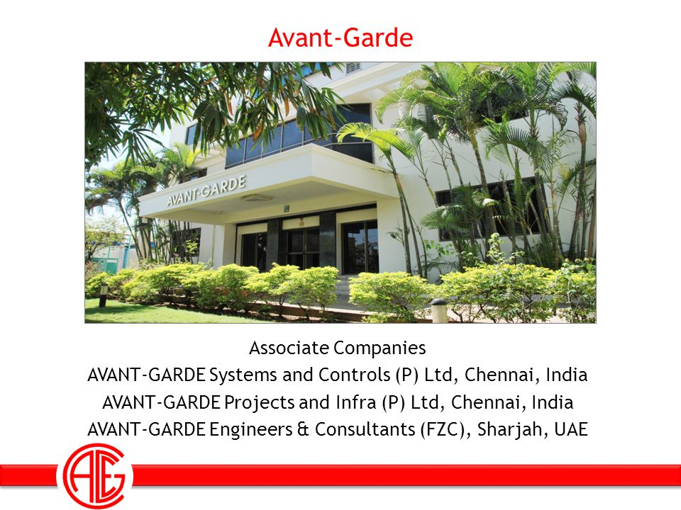 Avant-Garde Founded by a group of Technocrats in the year 1990 Is committed to work for Engineering Excellence Into the 23 rd year of distinguished Engineering Service