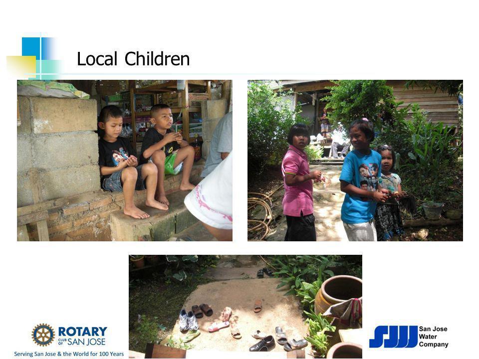 ROTARY CLUB Of SARATOGA Local Children