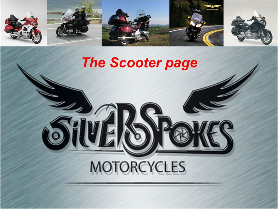 1 The Scooter page