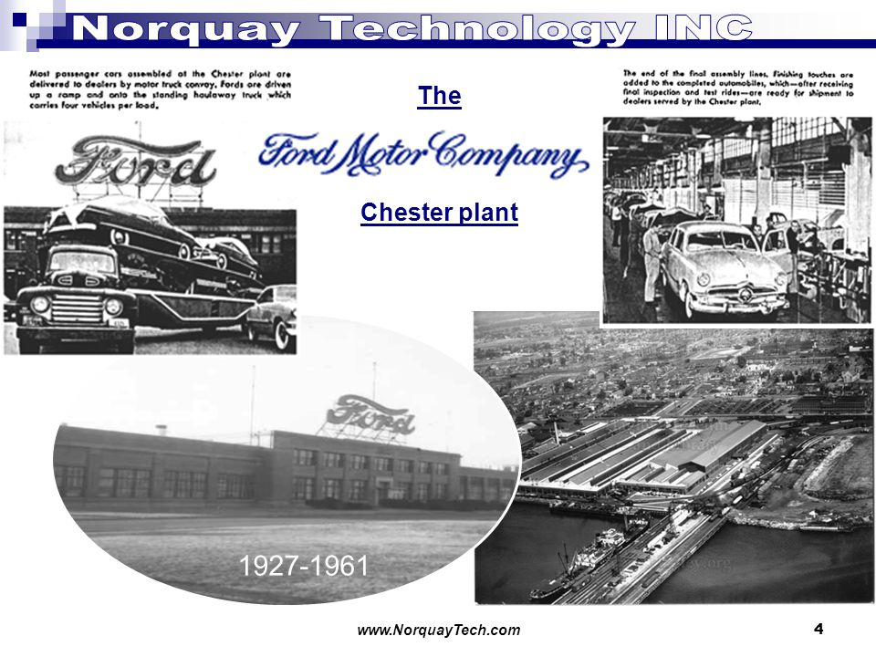 www.NorquayTech.com 4 The Chester plant