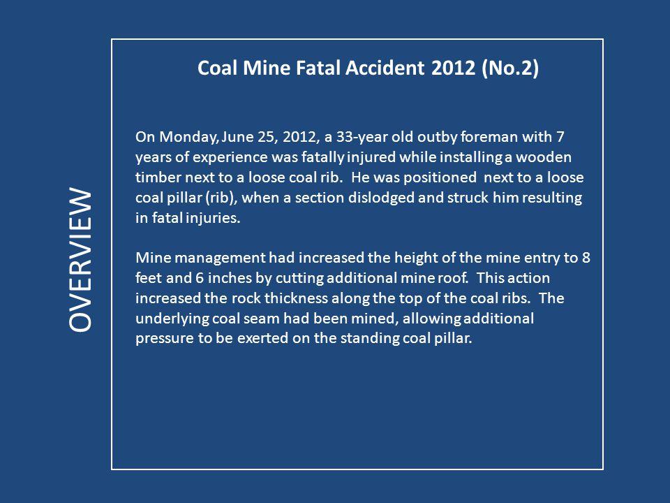 Coal Mine Fatal Accident 2012 (No.2) ACCIDENT PHOTOS