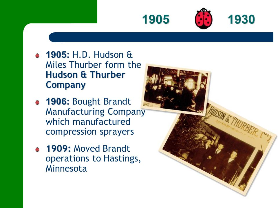 2001: 2001: W.A.Hudson is appointed Executive Vice President, Marketing and Sales 2002: 2002: R.C.