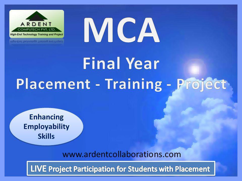 Enhancing Employability Skills www.ardentcollaborations.com