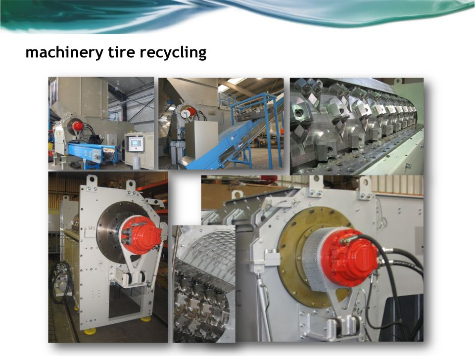 machinery tire recycling
