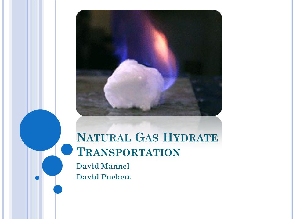 Natural gas hydrate peak-shaving has a higher ROI than LNG.