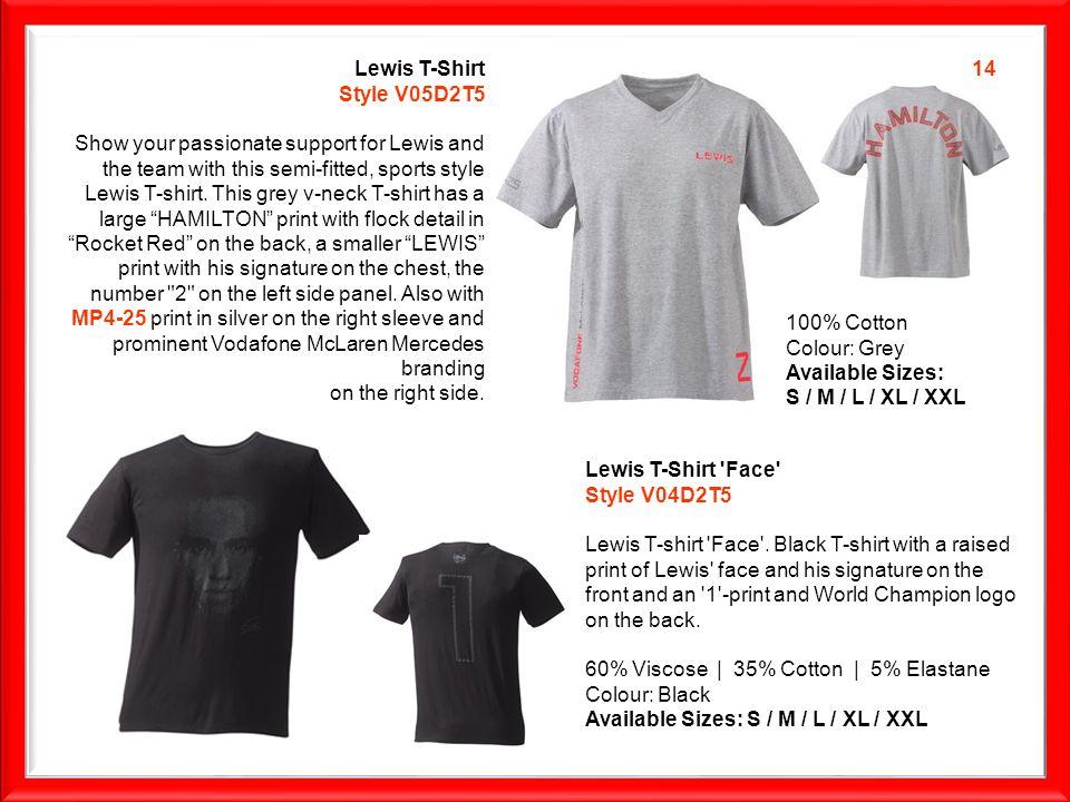 Lewis T-Shirt Face Style V04D2T5 Lewis T-shirt Face .