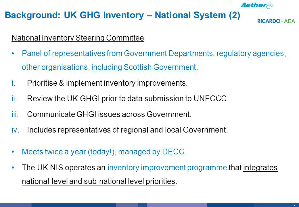 38 Scotland GHGI Improvement Examples (2) DEVELOP NEW DATA MECHANISMS Very little local data on energy use for domestic, commercial, small-scale industry….