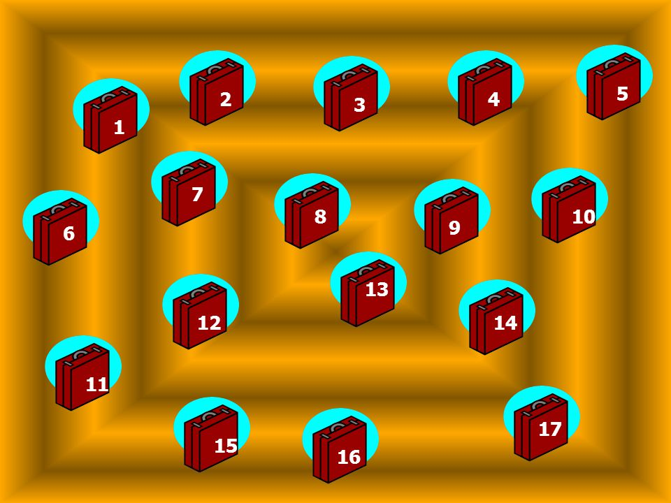 1 2 3 4 5 10 9 6 7 8 11 12 13 14 15 17 16
