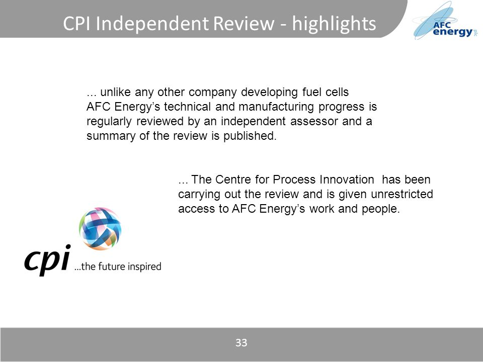 Title 33 CPI Independent Review - highlights...