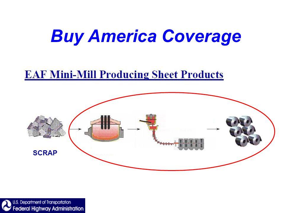 Buy America Coverage SCRAP