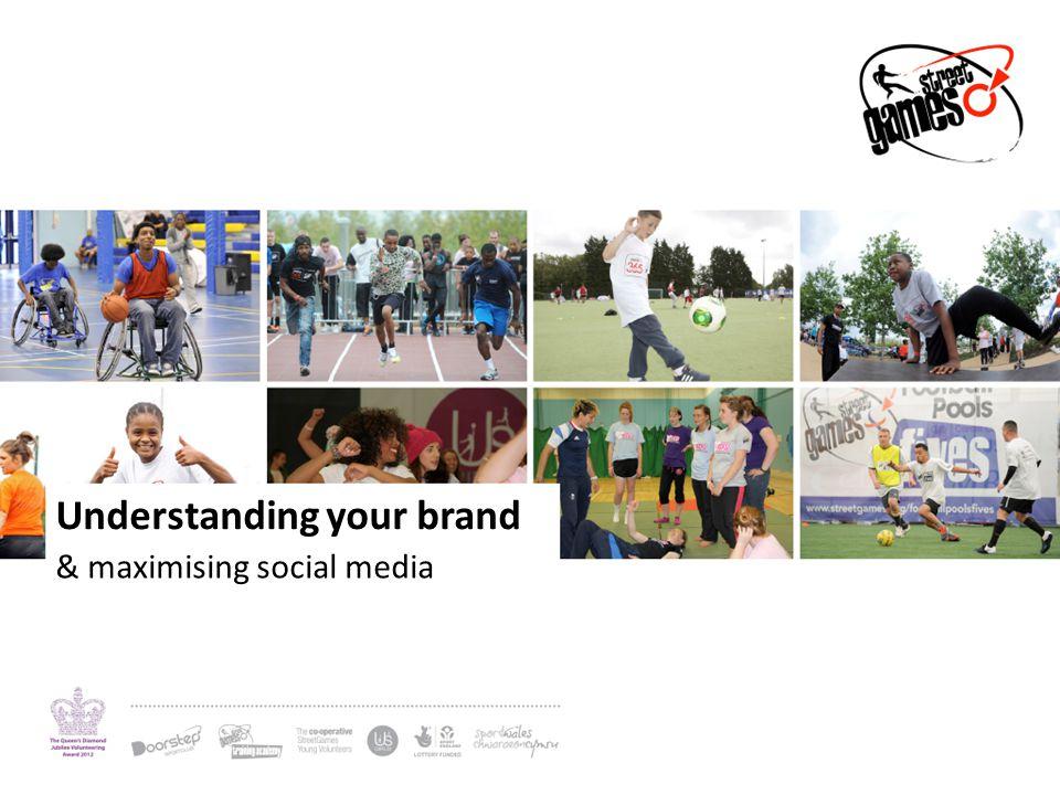 Understanding your brand & maximising social media