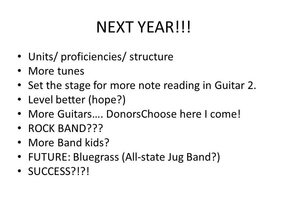 NEXT YEAR!!.