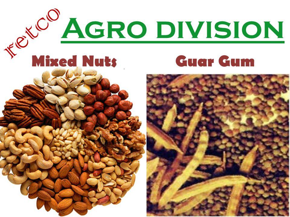 Agro division retco Mixed NutsGuar Gum