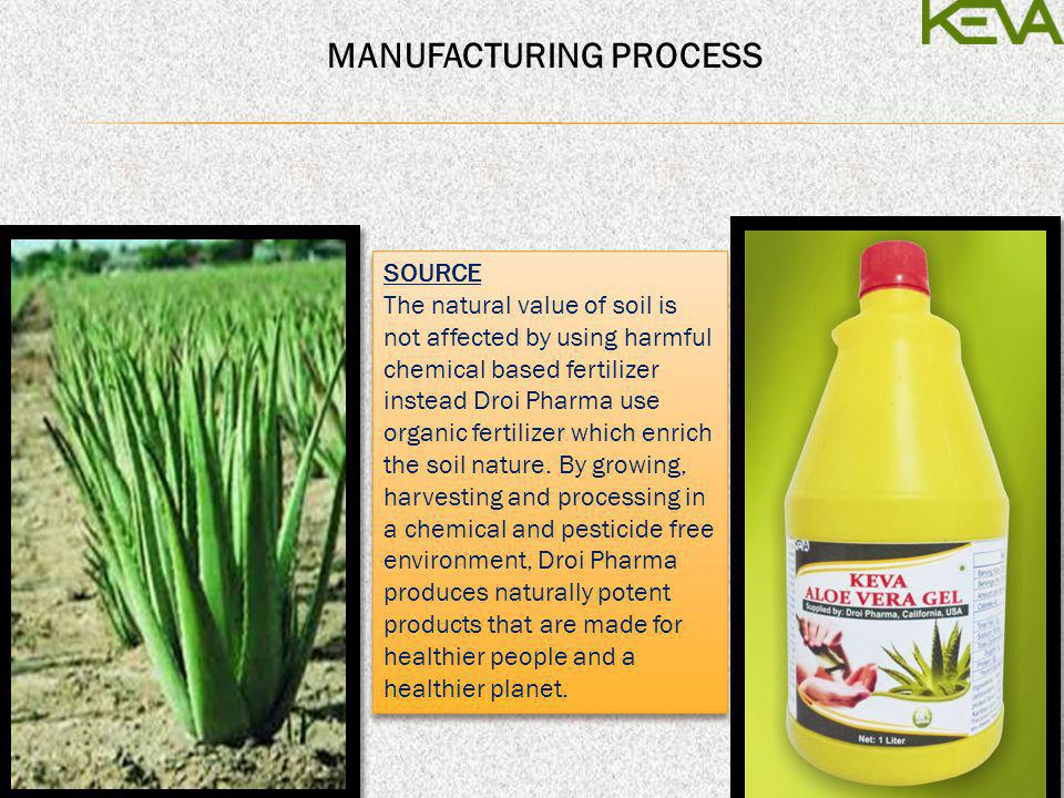 SOURCE The natural value of soil is not affected by using harmful chemical based fertilizer instead Droi Pharma use organic fertilizer which enrich th