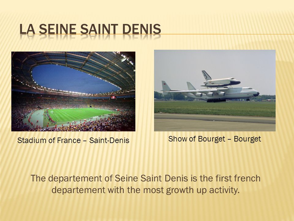 The departement of Seine Saint Denis is the first french departement with the most growth up activity.