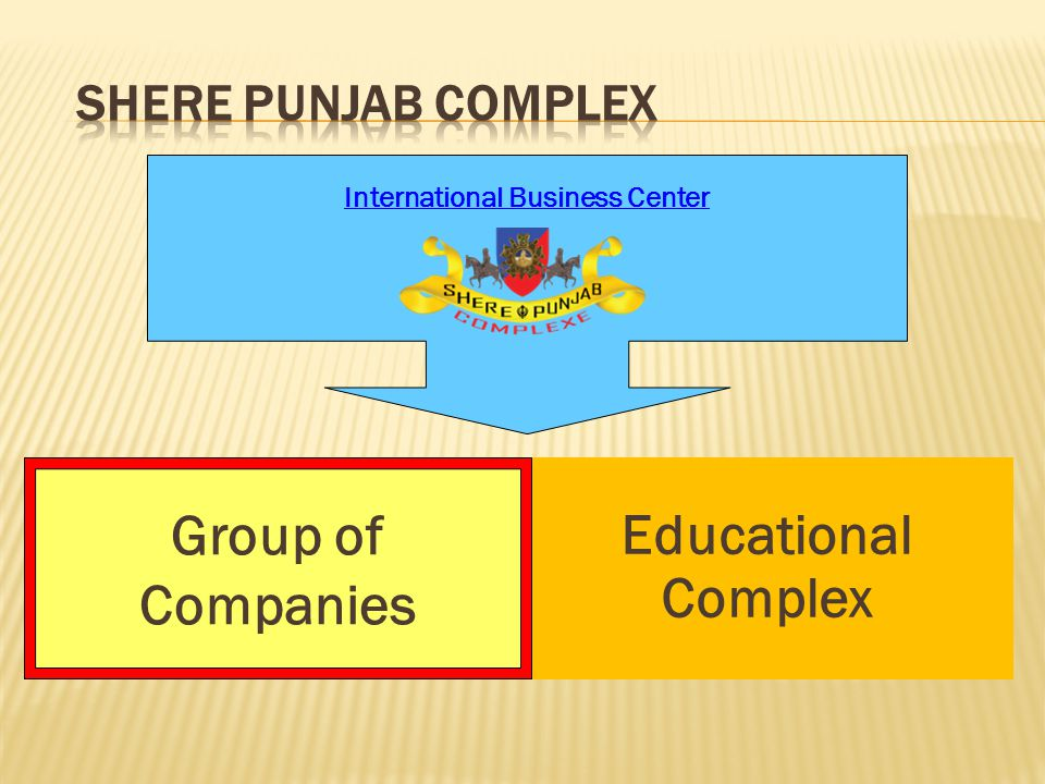 Group of Companies International Business Center Educational Complex