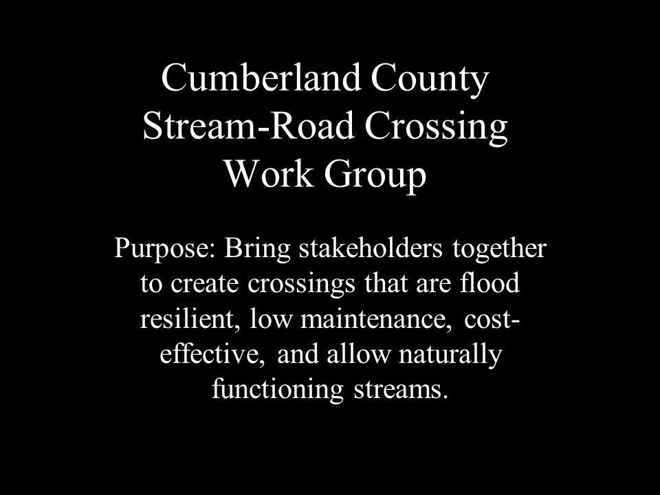 Partners: Cumberland County EMA - Lori Roth Cumberland County Soil & Water Conservation District Casco Bay Estuary Partnership - Matt Craig Cumberland County Executive Office - Elizabeth Trice U.S.