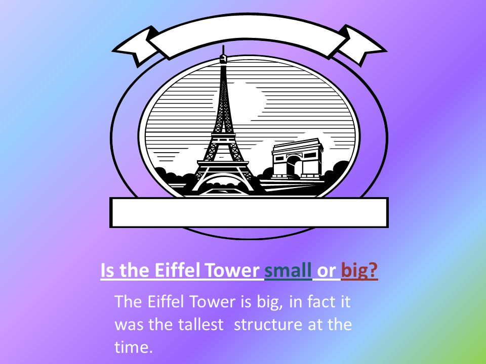 How did the Eiffel Tower get its shape.