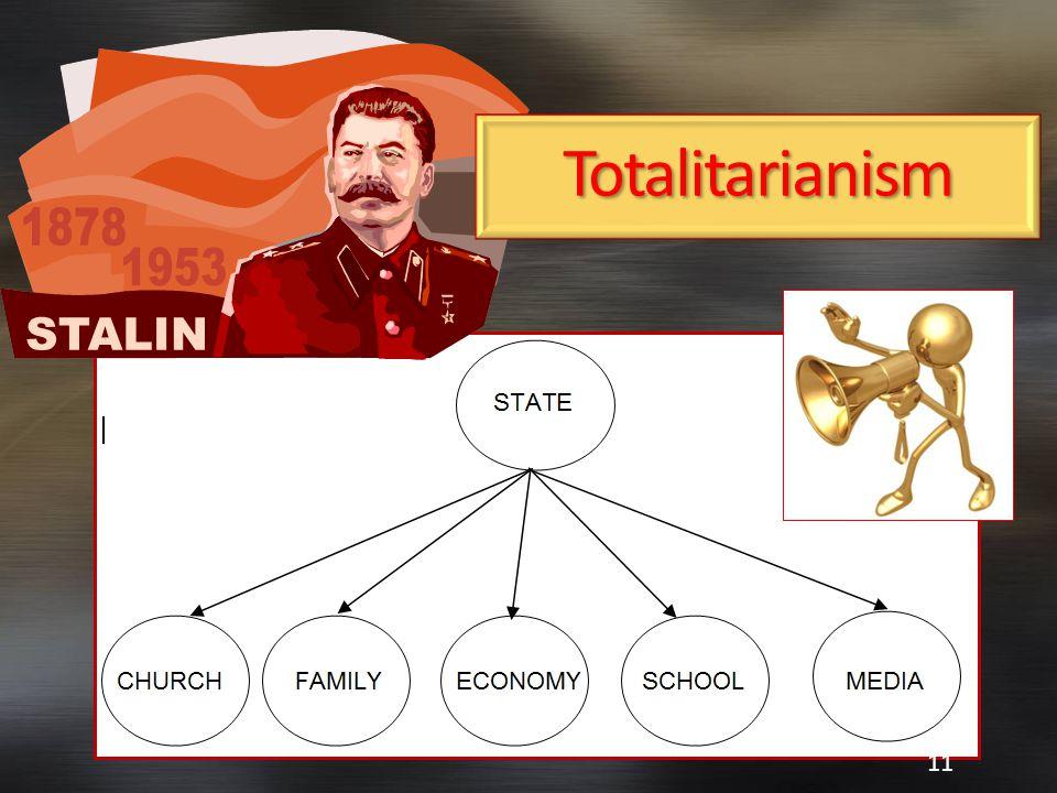 Totalitarianism 11