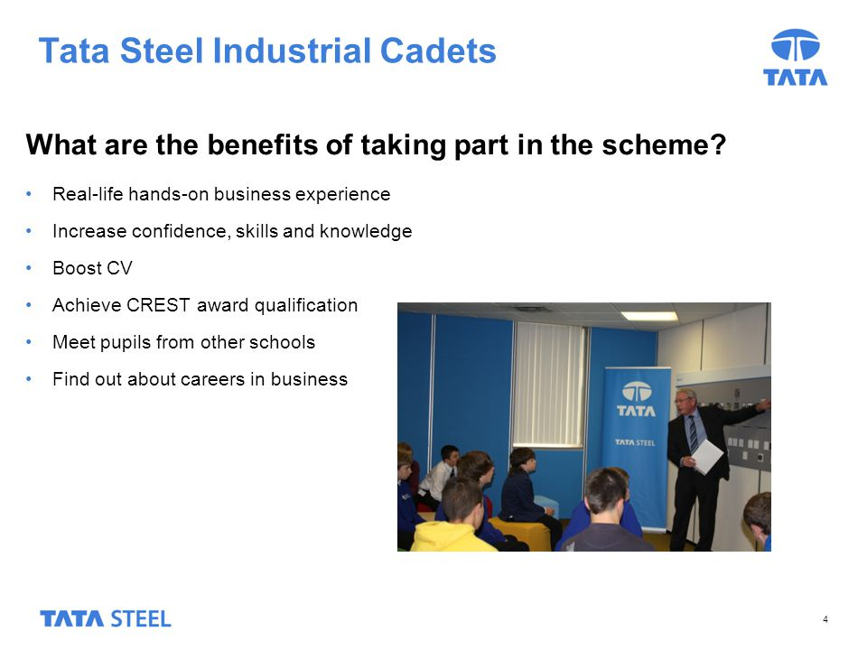 Tata Steel Industrial Cadets What happens next.