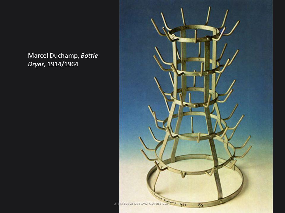 Marcel Duchamp, Bottle Dryer, 1914/1964 annasuvorova.wordpress.com