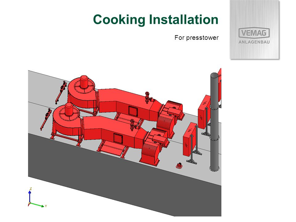 Cooking Installation For presstower