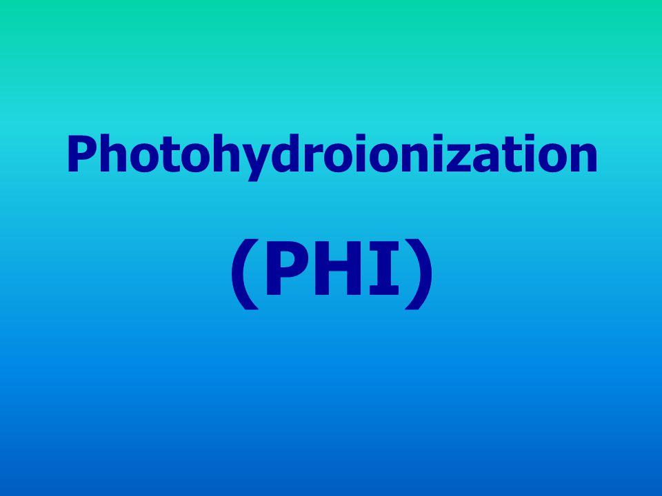 Photohydroionization (PHI)