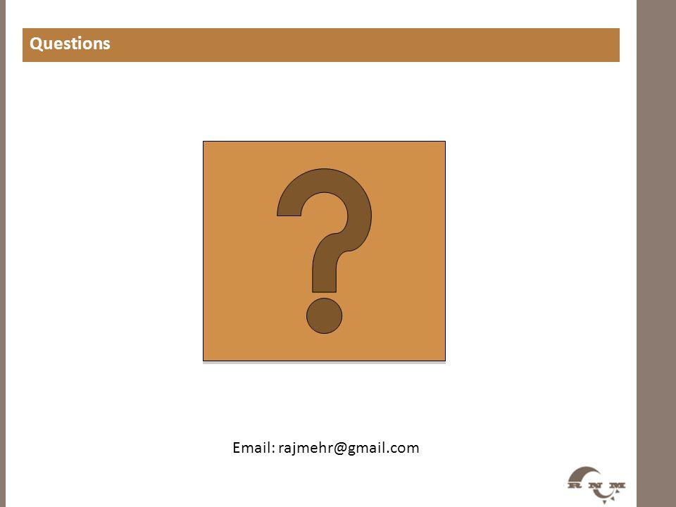 Email: rajmehr@gmail.com