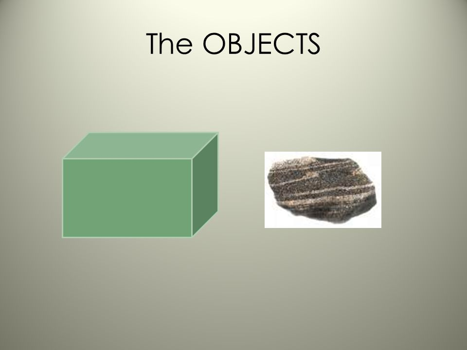 The OBJECTS