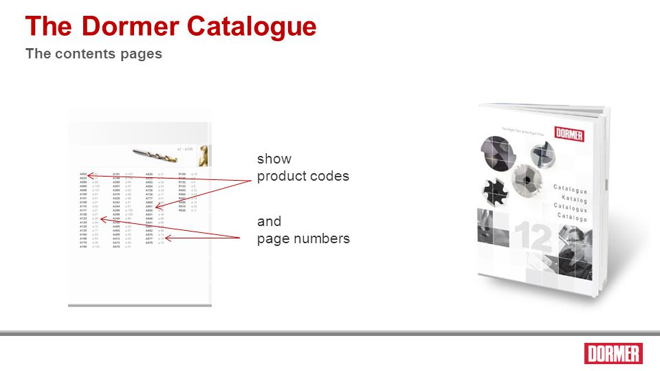 The product page The Dormer Catalogue 2 second delay On the grouped product pages, if the descriptions or the AMG suitability are the same for any products, they are grouped together to avoid duplication.