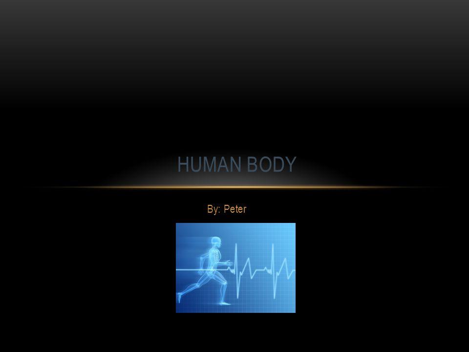 By: Peter HUMAN BODY