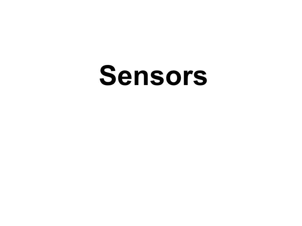 Sensor is a Transducer, What is a transducer .