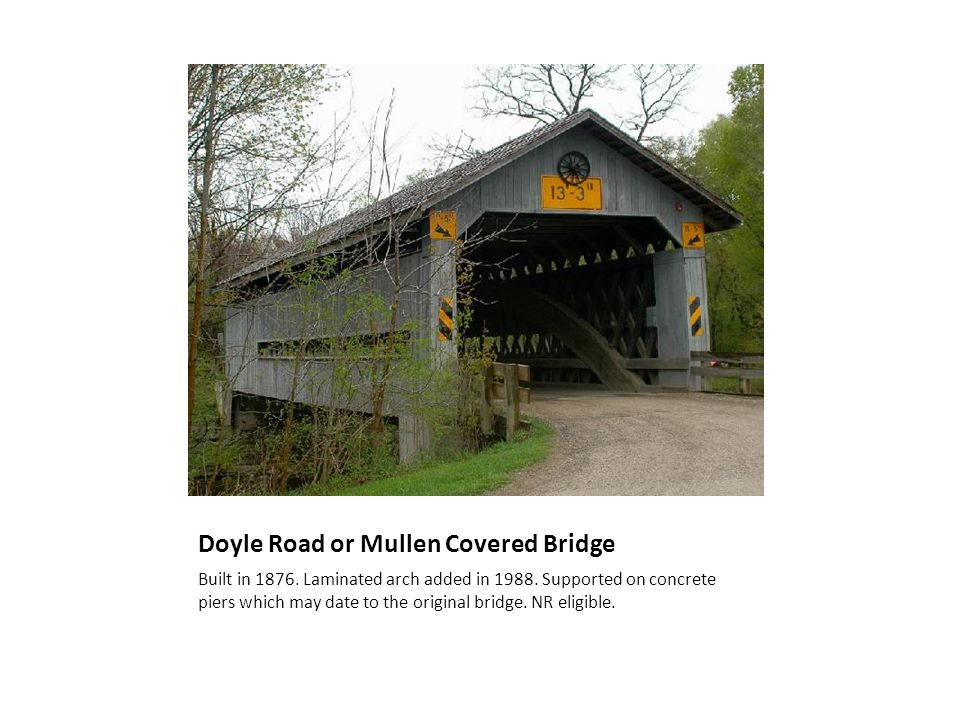 Windsor Mills Covered Bridge Built in 1867.Closed in the 1980s.