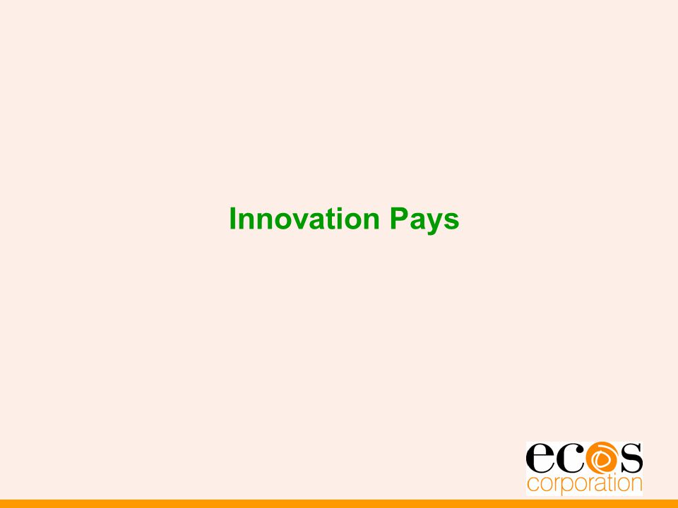 Innovation Pays